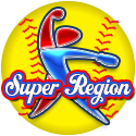 NCS Fastpitch Midwest Super Regional 5GG $325 1st & 2nd Rings Logo