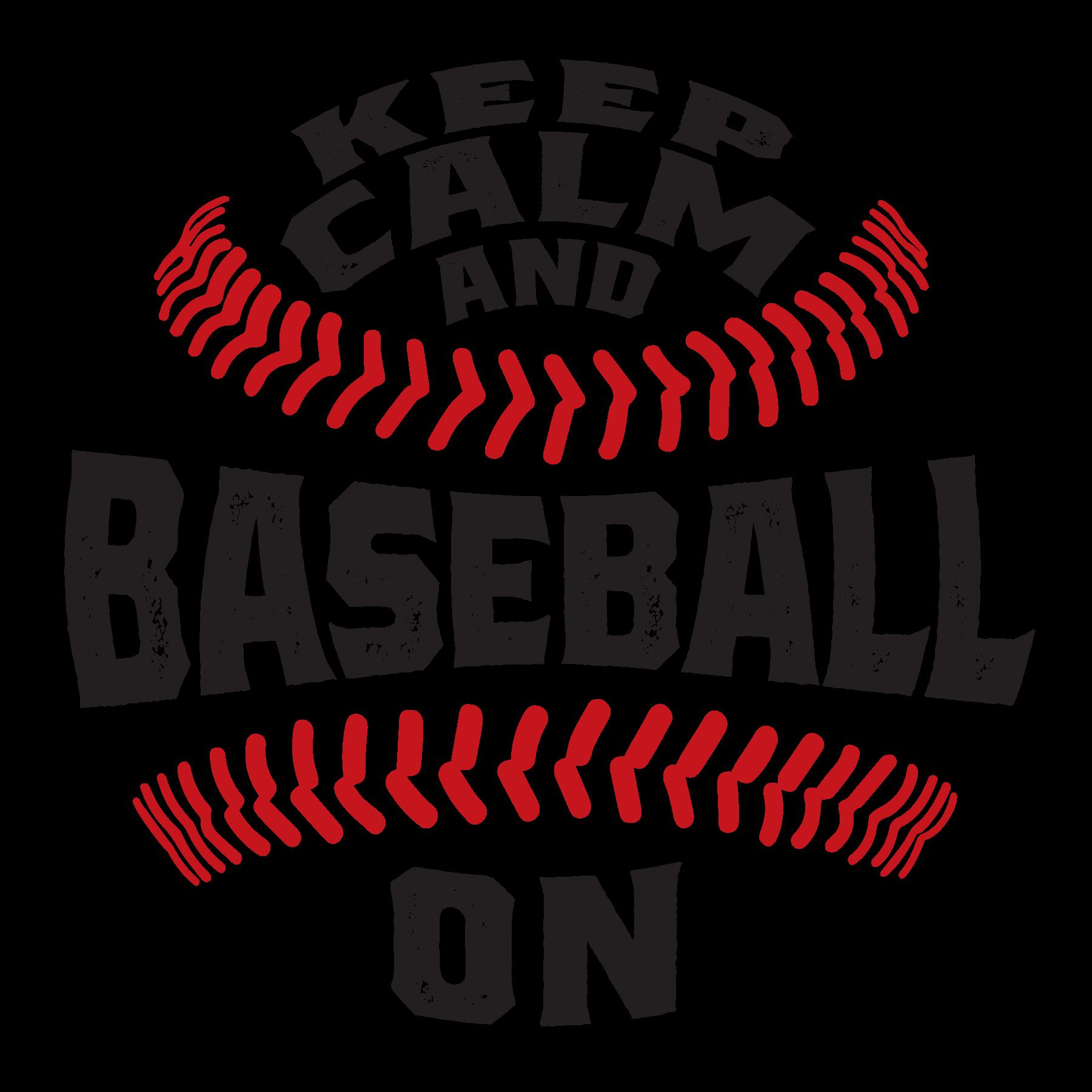 Keep Calm & Baseball On - The Sizzler Logo