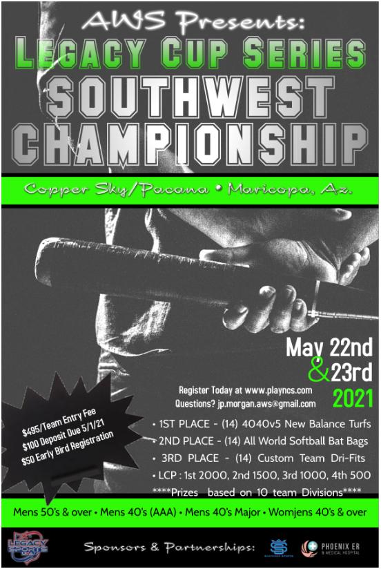 Legacy Cup Series - Southwest Championship Logo