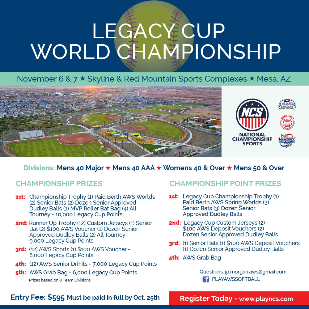 WORLD LEGACY CUP CHAMPIONSHIP Logo