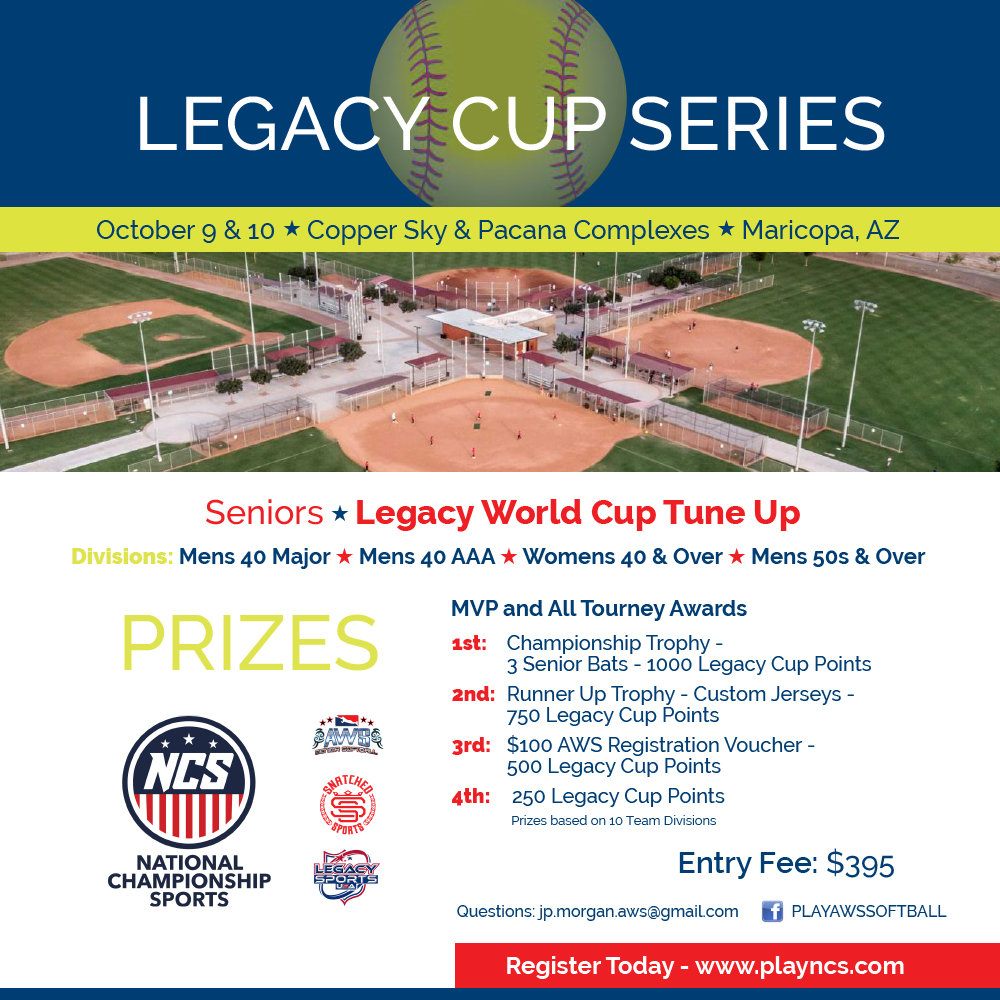 Legacy Cup Series - World Cup Tune Up Logo