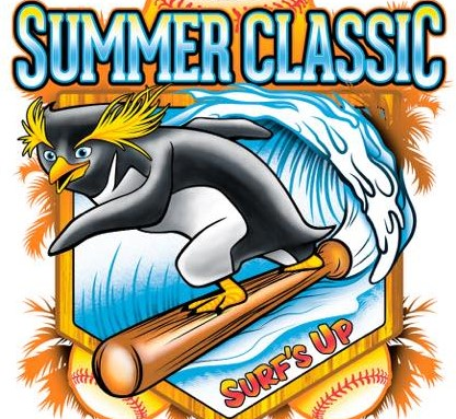 """SURF'S UP """"Playing for Rings"""" Logo"""