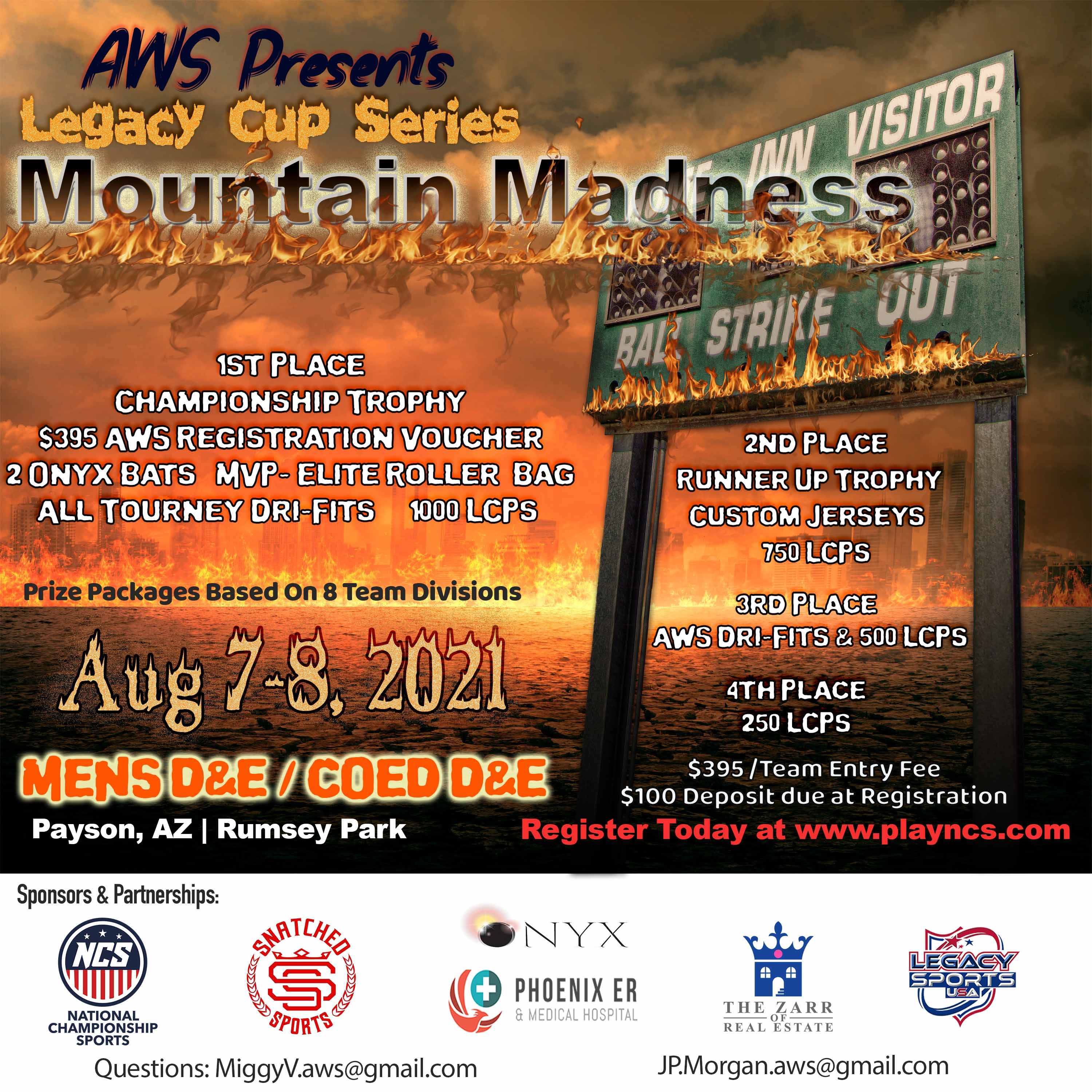 Legacy Cup Series - Mountain Madness Logo