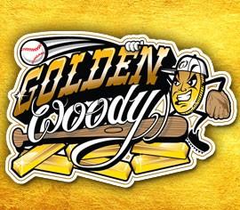 Golden Woody rings weekend Logo