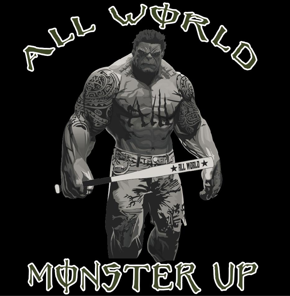 Elk Grove Monster Up! Logo