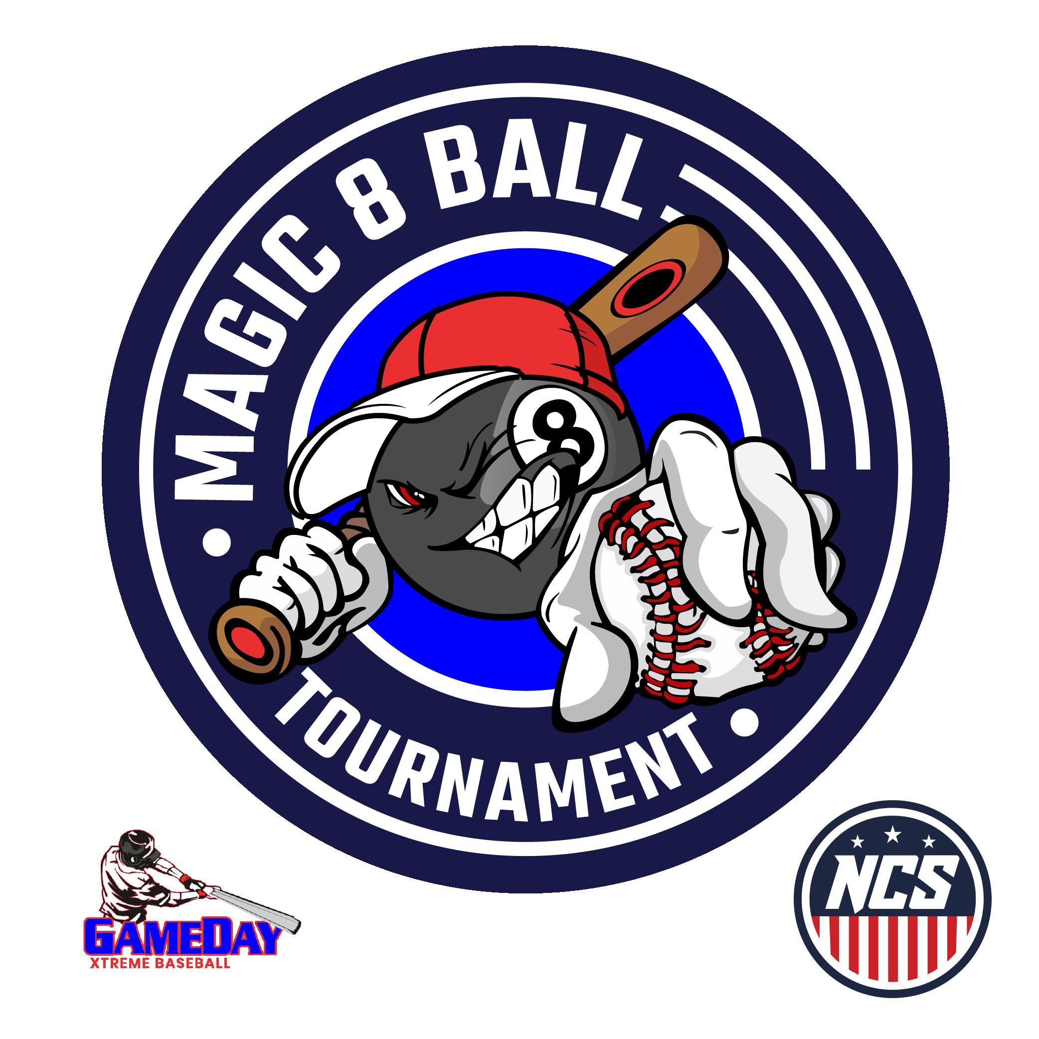 "Magic 8U Ball ""Playing for RINGS"" Logo"