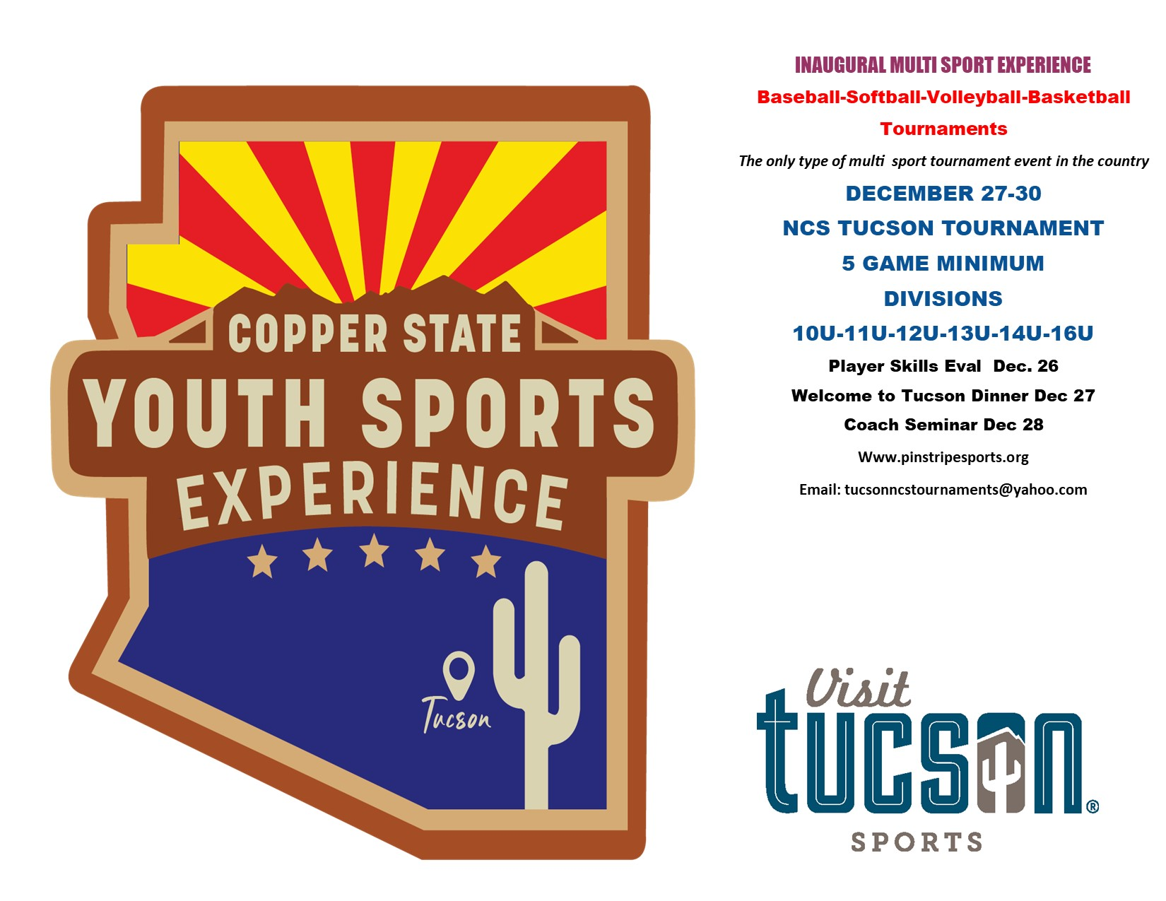 Copper State Youth Sports Experience Logo