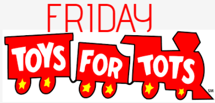 Friday Night TOYS-4-TOTS @ The CREEKS! Logo