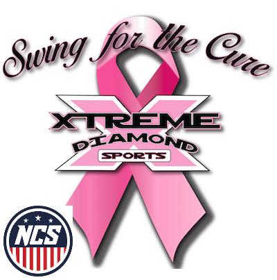Xtreme Diamond -NCS Swing For the Cure, NCS Phoenix EAST VALLEY - 13U,14U,15U,16U (WOOD BAT) Logo